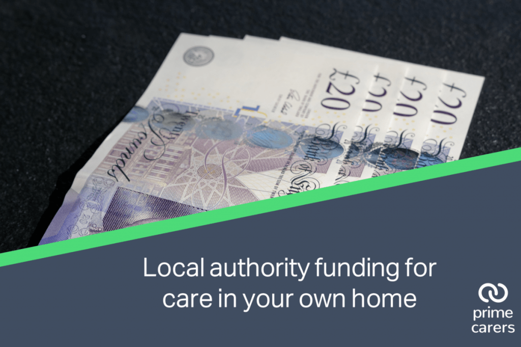 Local authority funding for care in your own home