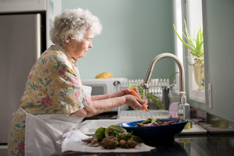 Diets need to be adapted to meet elderly nutrition requirements.