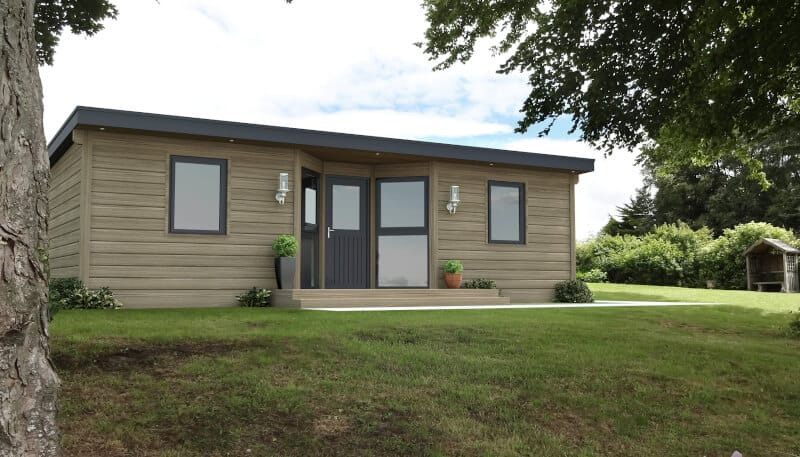 A pre-built granny annexe can be a great way to go