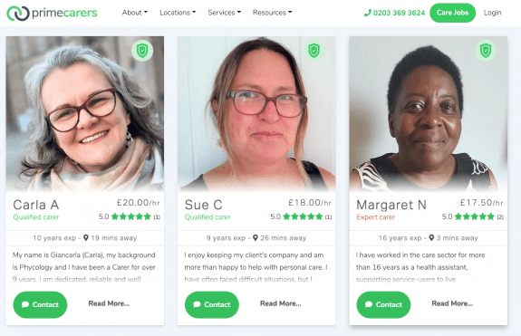 How to Find a Private Carer? The best websites to use in 2021